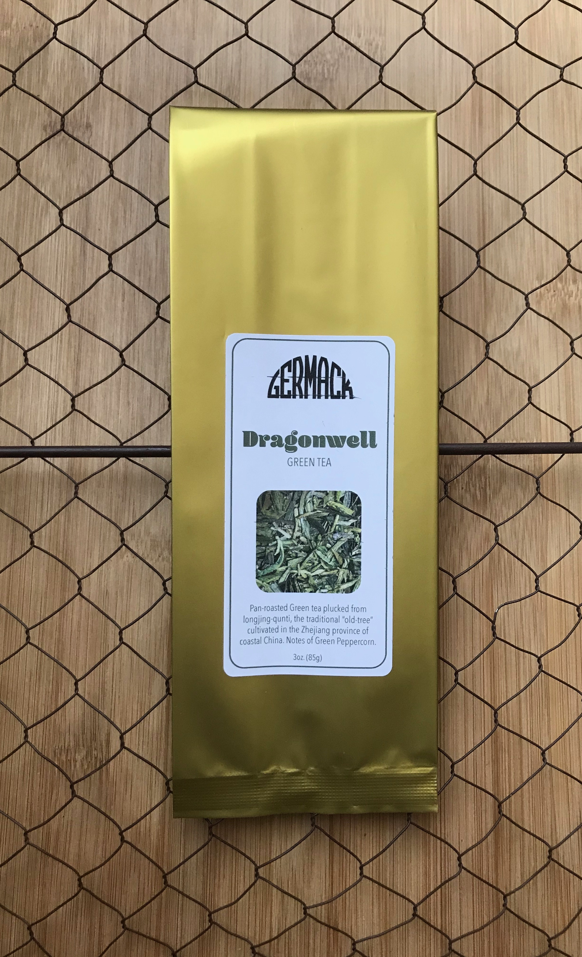 Picture Tea - Green Tea - Dragonwell - 3oz