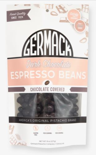 Picture Dark Chocolate Espresso Beans 8oz