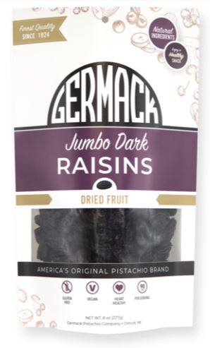 Picture Raisins Dark Jumbo 8oz