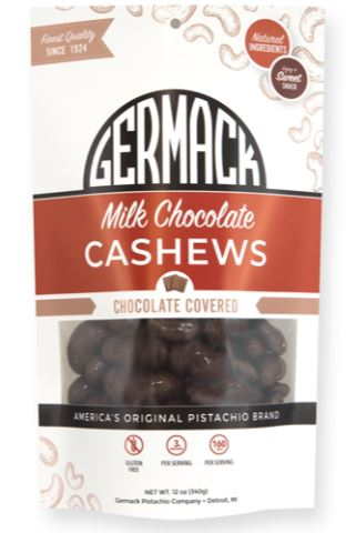 Picture Milk Chocolate Cashews 12oz