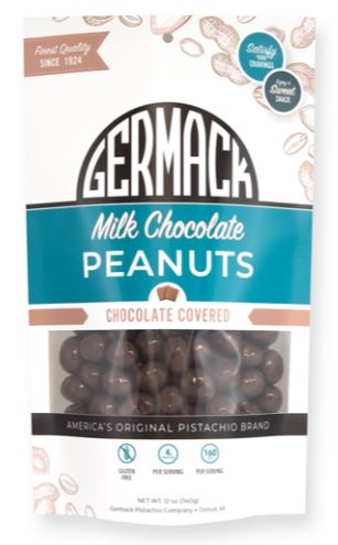 Picture Milk Chocolate Peanuts 12oz