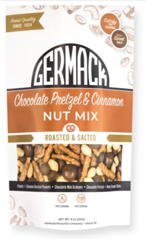 Picture Nut Mix - Chocolate Pretzels & Cinnamon 8oz