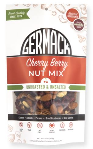 Picture Cherry Berry Nut Mix Unroasted and Unsalted 10oz
