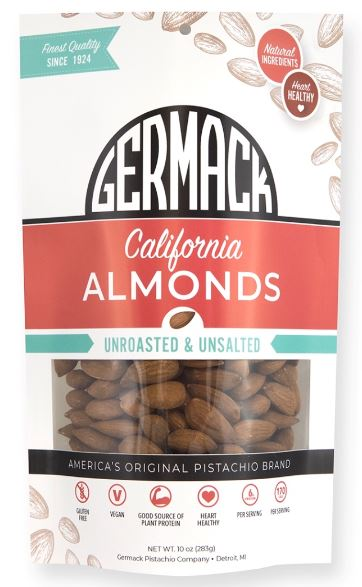 Picture Almonds California Unroasted and Unsalted 10oz