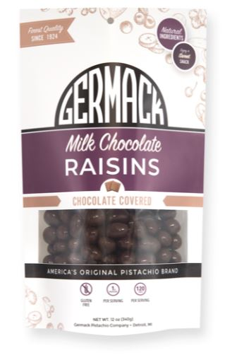 Picture Milk Chocolate Raisins 12oz