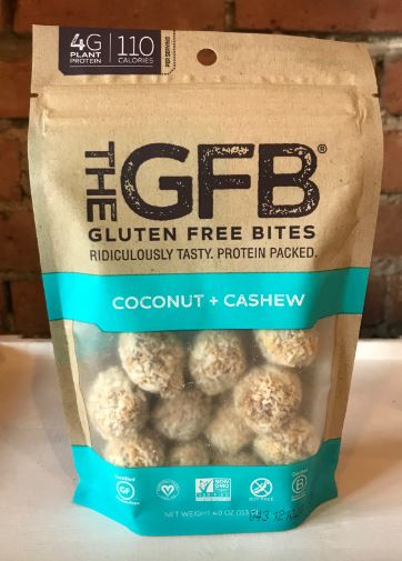 Picture Gluten Free Bites Coconut + Cashews 4oz